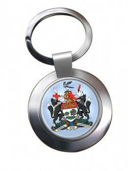 Prince Edward Island (Canada) Metal Key Ring