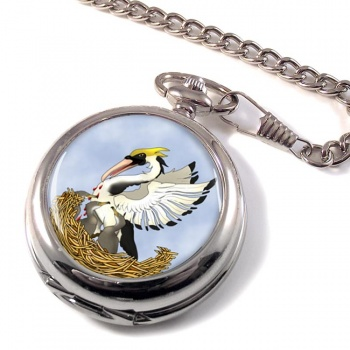 Pelican in Her Piety Pocket Watch