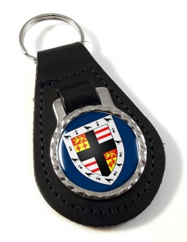 Pembrokeshire  Leather Key Fob