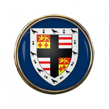 Pembrokeshire Round Pin Badge