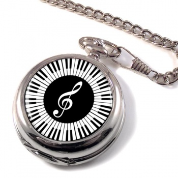 Piano Pocket Watch