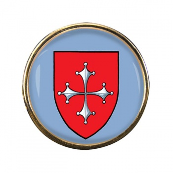 Pisa (Italy) Round Pin Badge