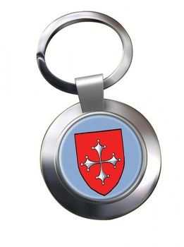 Pisa (Italy) Metal Key Ring