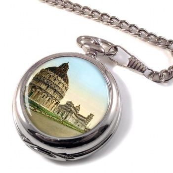 Cathedral Square Pisa Italy Pocket Watch