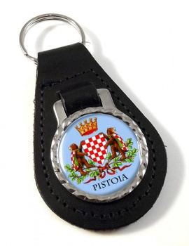 Pistoia (Italy) Leather Key Fob