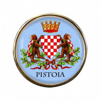 Pistoia (Italy) Round Pin Badge