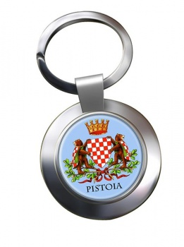 Pistoia (Italy) Metal Key Ring