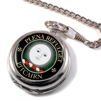 Pitcairn Scottish Clan Pocket Watch