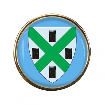Plymouth (England) Round Pin Badge