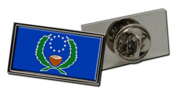 Pohnpei (Micronesia) Flag Pin Badge
