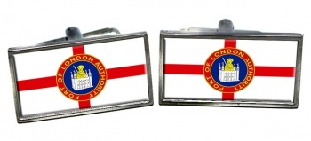 Port of London Authority Rectangle Cufflinks