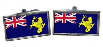 Port of London Authority Ensign Rectangle Cufflinks