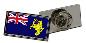 Port of London Authority Ensign Rectangle Tie Pin
