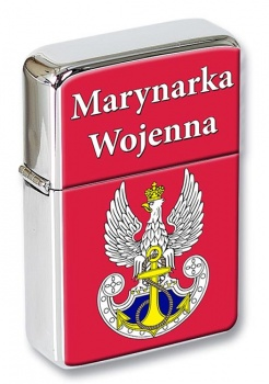 Marynarka Wojenna (Polish Navy) Flip Top Lighter