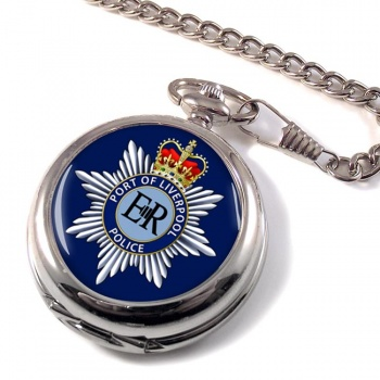 Port of Liverpool Police Pocket Watch