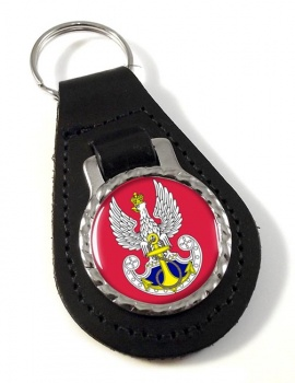 Marynarka Wojenna (Polish Navy) Leather Key Fob