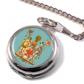 Pommern Pomerania (Germany) Pocket Watch