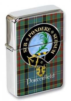 Porterfield Scottish Clan Flip Top Lighter