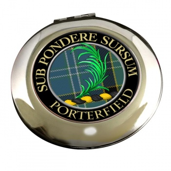 Porterfield Scottish Clan Chrome Mirror