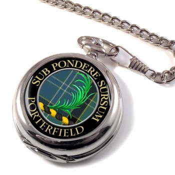 Porterfield Scottish Clan Pocket Watch