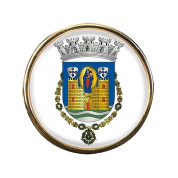 Porto (Portugal) Round Pin Badge