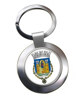 Porto (Portugal) Metal Key Ring