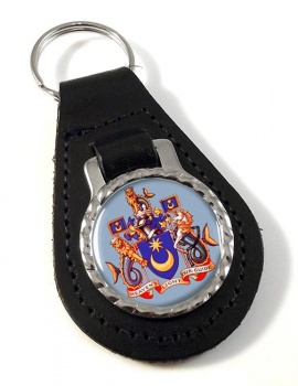 Portsmouth (England) Leather Key Fob