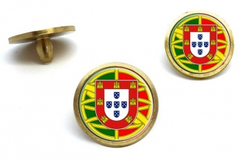 Brasao de armas de Portugal Golf Ball Marker