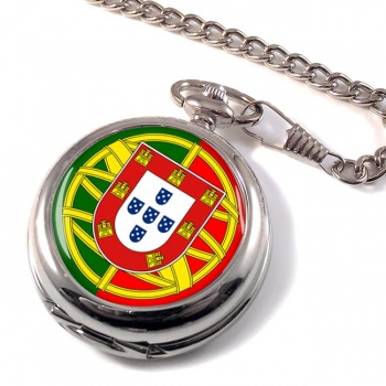 Brasão de armas de Portugal Pocket Watch