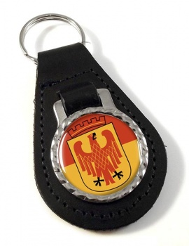 Potsdam (Germany) Leather Key Fob