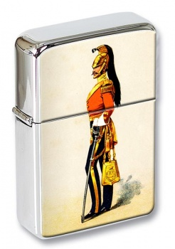 3rd Prince of Wales's Dragoon Guards Flip Top Lighter