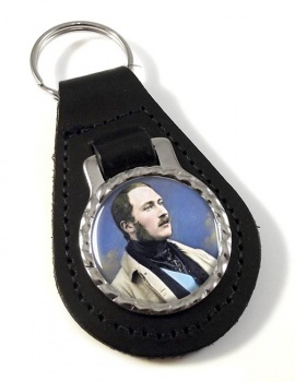 Albert Prince Consort Leather Key Fob