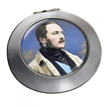 Albert Prince Consort Chrome Mirror