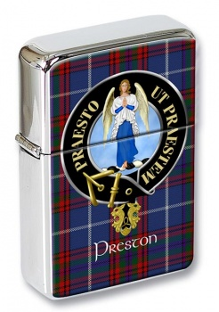 Preston Scottish Clan Flip Top Lighter