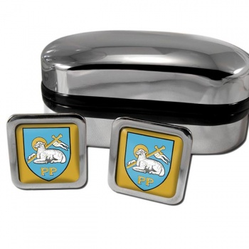 Preston England Square Cufflinks