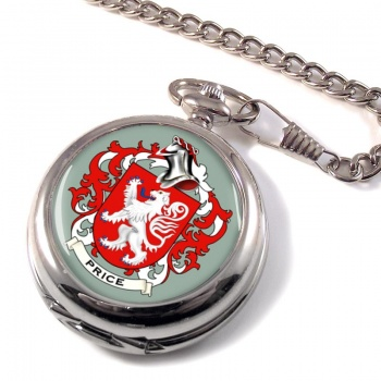 Price Coat of Arms Pocket Watch