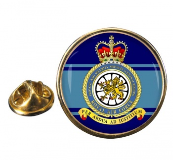 Provost and Security Services (Central Region) RAF Round Pin Badge