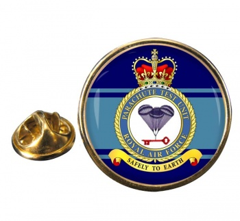 Parachute Test Unit (Royal Air Force) Round Pin Badge