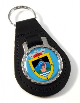 Puente Alto (Chile) Leather Key Fob