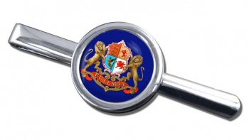 Pullman Train Crest Tie Clip