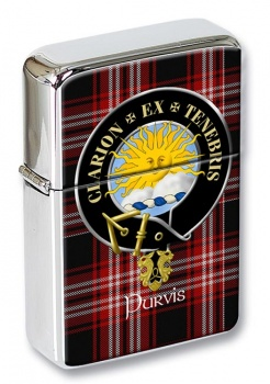 Purvis Scottish Clan Flip Top Lighter