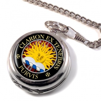 Purvis Scottish Clan Pocket Watch