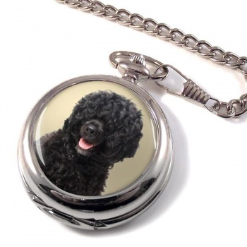 Portuguese Water Dog Pocket Watch