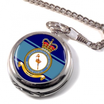 Queen's Colour Squadron (Royal Air Force) Pocket Watch