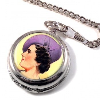 Elizabeth Queen Consort Pocket Watch