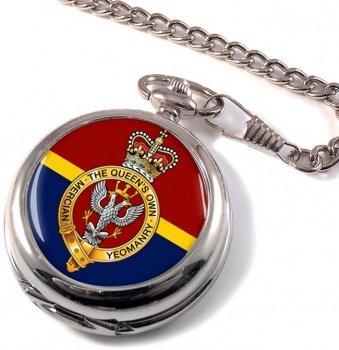 Queen's Own Mercian Yeomanry (British Army) Pocket Watch