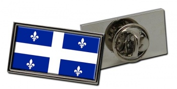 Quebec Province (Canada) Flag Pin Badge