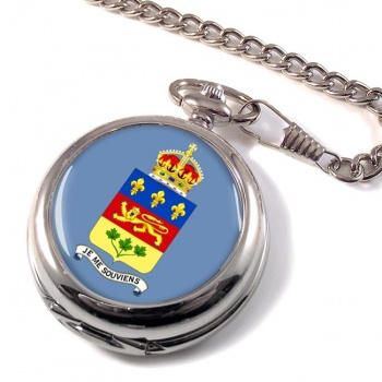 Quebec Province (Canada) Pocket Watch