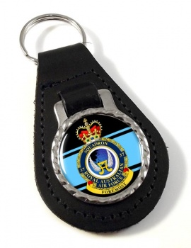 37 Squadron RAAF Leather Key Fob