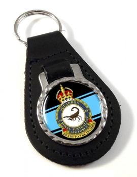 459 Squadron RAAF Leather Key Fob